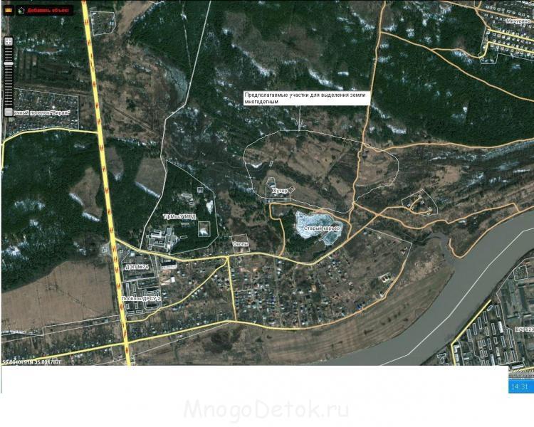 спутниковая карта черкас