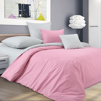 Новые ткани  - Перкаль белый и розовый.jpg