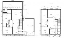 Наш неЗагородный дом: неожиданный порыв и решение ва-банк - Наш дом - чертеж.jpg