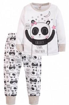 Happywear недорогой и качественный трикотаж для всех. - CC1516_панда,белый_front (1).jpg