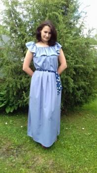 Швейная мастерская. Юбки и платья для мам и дочек. - dhh4frA0HKg.jpg