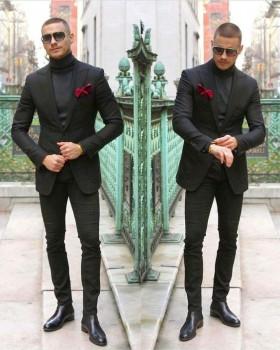 Идеи гардероба для мужчин и пар - 3bbc2b0a9e110ebae25b4d105701603a.jpg