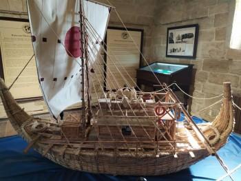 Корабль, на котором плавал Сенкевич, доказывая, что египтяне вполне могли совершать длительные морские переходы - IMG_20190917_163822.jpg